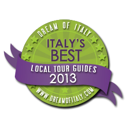 italy's best local tour guides 2013 badge